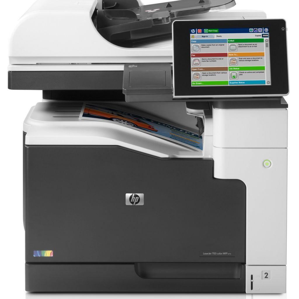 "Image Description of ""HP Colour LaserJet ENT 700 M775dn MFP""."