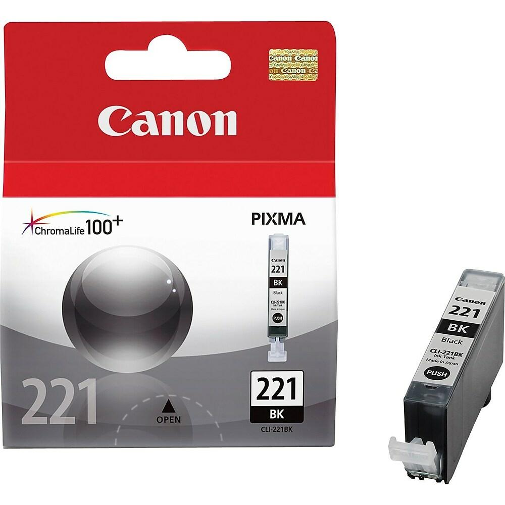 "Image Description of ""Canon CLI-221 Black Ink Tank (2946B001) (CLI-221BK)""."