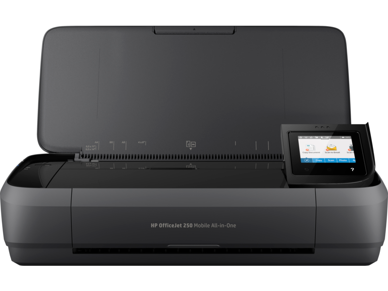 "Image Description of ""HP OfficeJet 250 Mobile All-in-One Printer""."