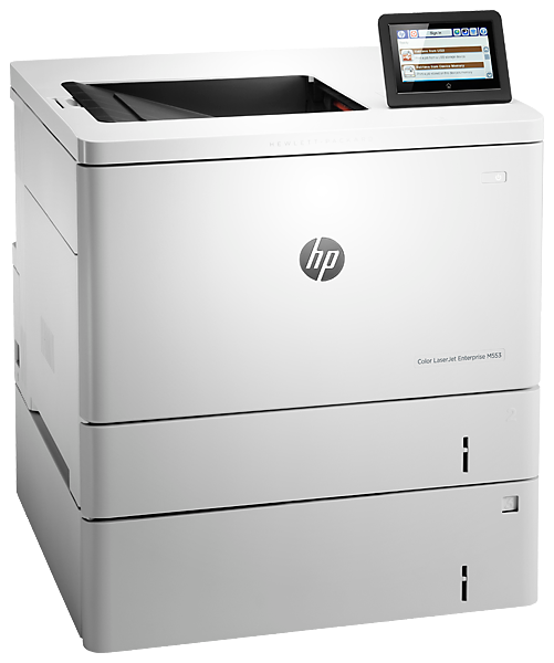 "Image Description of ""HP Colour LaserJet ENT M553x""."