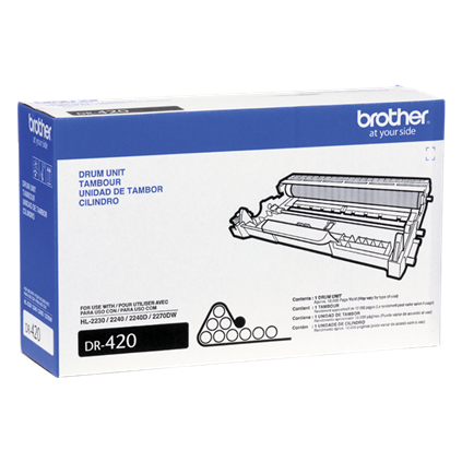"Image Description of ""Brother DR420 Drum Cartridge (DR420)""."