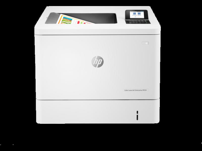"""Image Description of """"HP Colour LaserJet PRO M554dn *NEW*""""."""