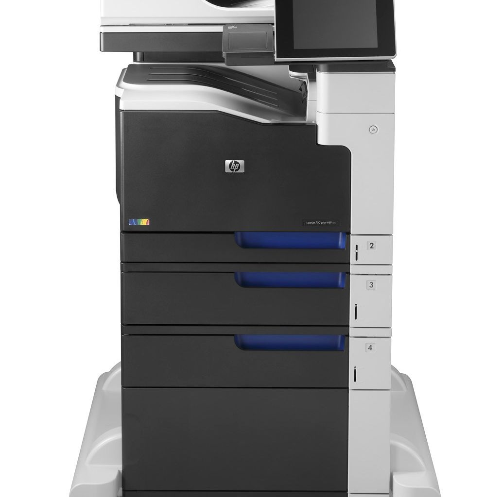 "Image Description of ""HP Colour LaserJet ENT 700 M775f MFP""."