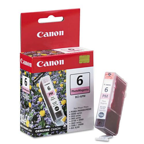 "Image Description of ""Canon BCI-6PM Photo Magenta Ink Tank (4710A003)""."