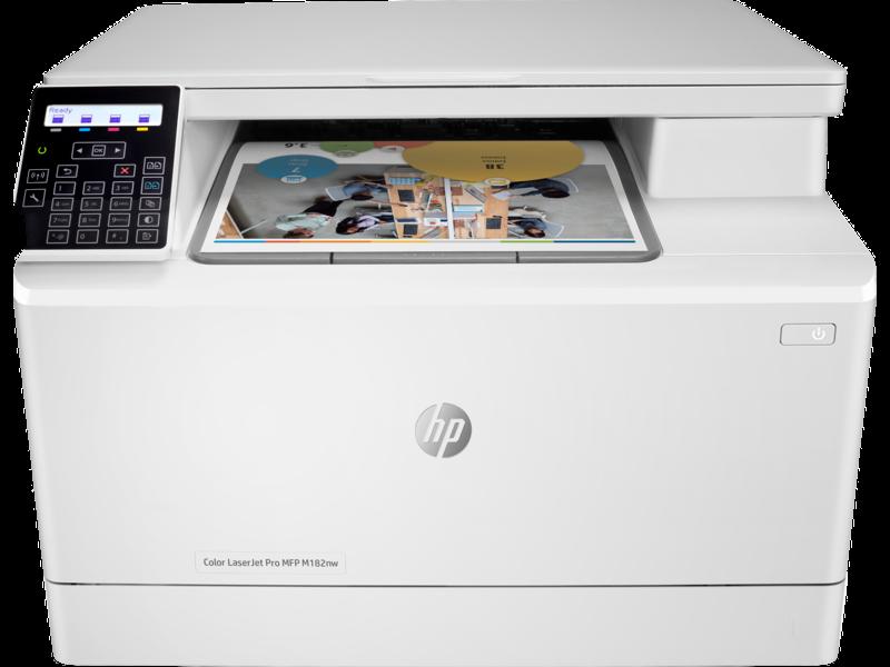 """Image Description of """"HP Colour LaserJet Pro MFP M182nw *NEW*""""."""