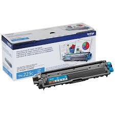 "Image Description of ""Brother Cyan Toner Cartridge, High Yield (TN225C)""."