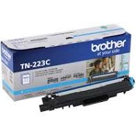 "Image Description of ""Brother Cyan Toner Cartridge, Standard Yield (TN223C)""."
