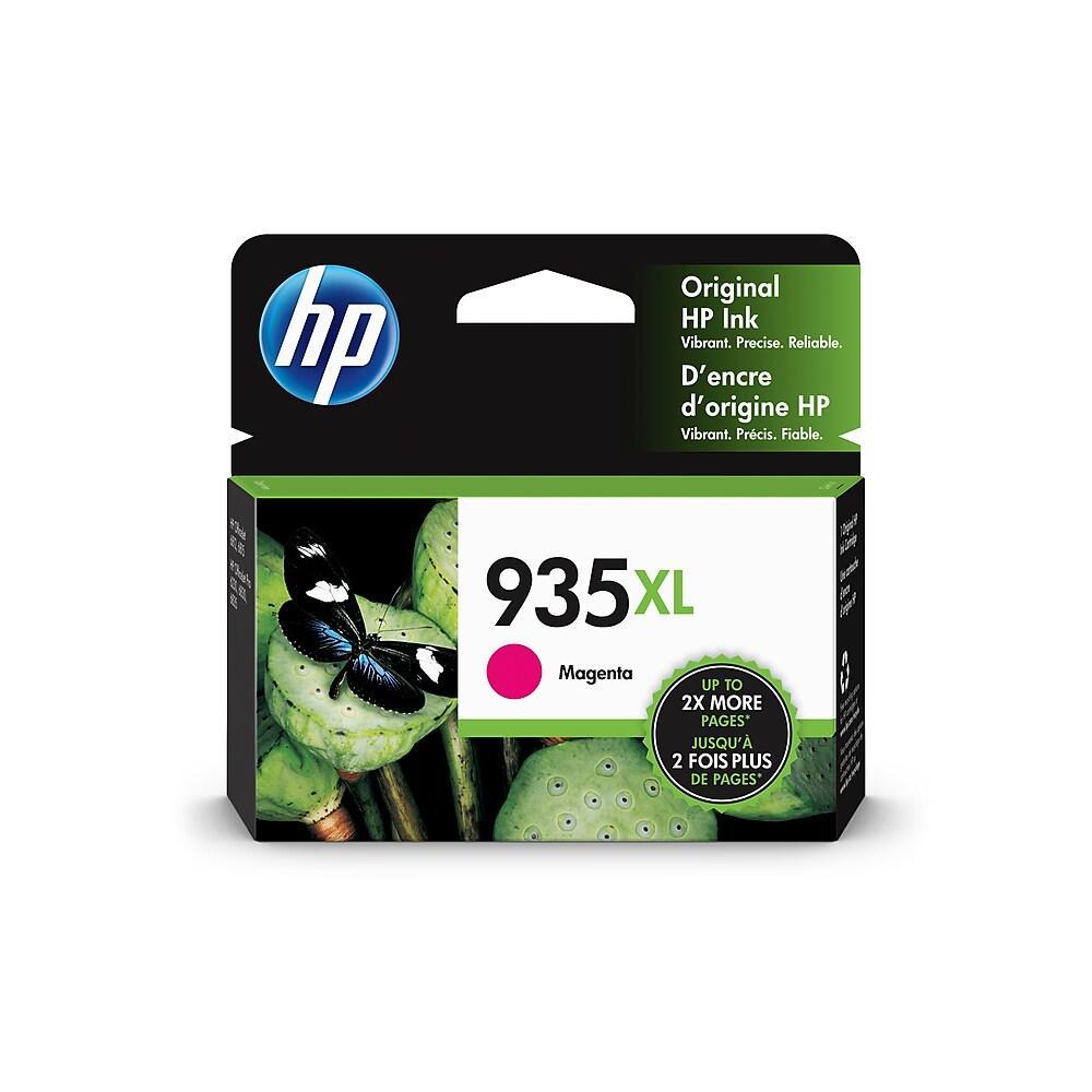 "Image Description of ""HP 935XL High Yield Magenta Original Ink Cartridge (C2P25AN)""."