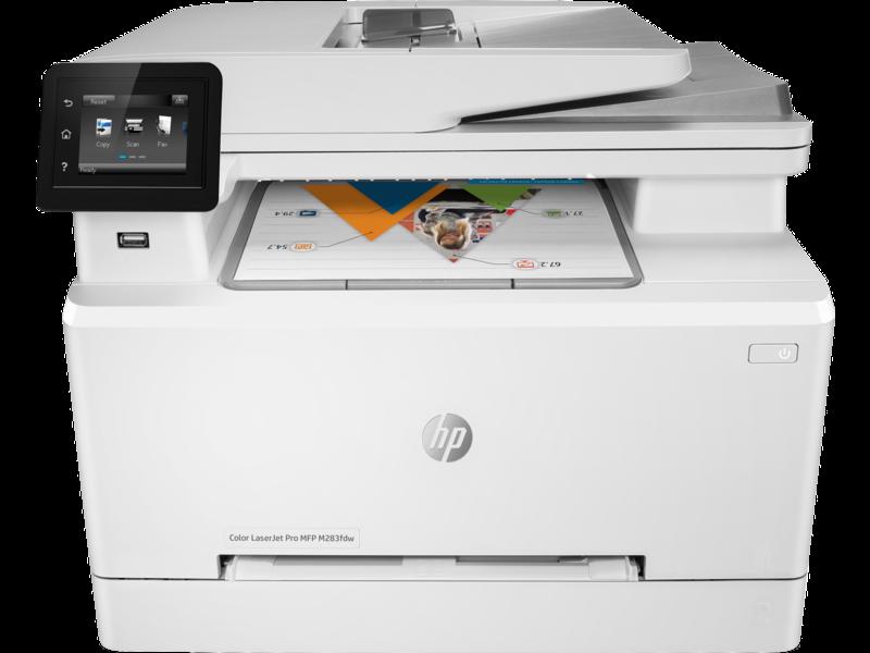 """Image Description of """"HP Colour LaserJet Pro M283fdw *NEW*""""."""