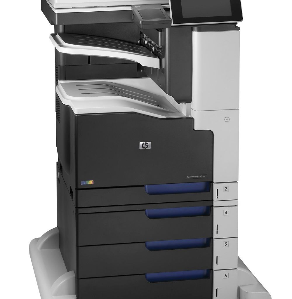 "Image Description of ""HP Colour LaserJet ENT 700 M775z MFP""."