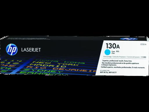 "Image Description of ""HP 130A Cyan Original LaserJet Toner Cartridge (CF351A)""."
