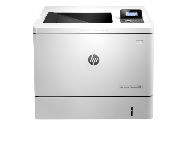"Image Description of ""HP Colour LaserJet ENT M553dn""."