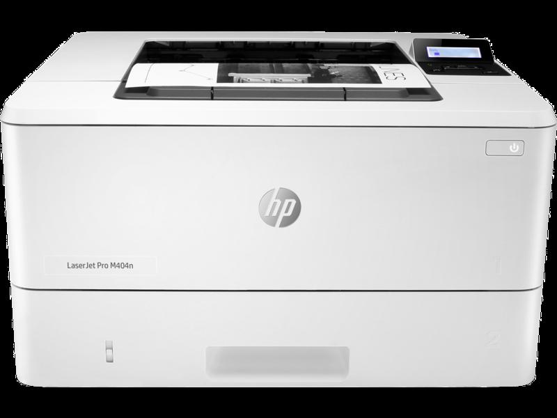 "Image Description of ""HP LaserJet PRO M404n""."