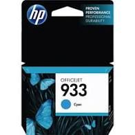 "Image Description of ""HP 933 Cyan Original Ink Cartridge (CN058AC)""."
