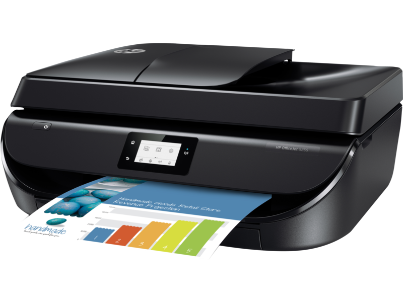 "Image Description of ""HP OfficeJet 5255 All-in-One Printer ""."
