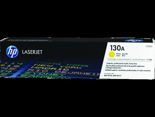 "Image Description of ""HP 130A Yellow Original LaserJet Toner Cartridge (CF352A)""."