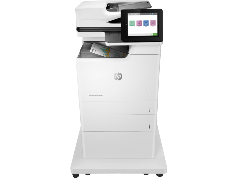 """Image Description of """"HP Colour LaserJet ENT M681f """"."""