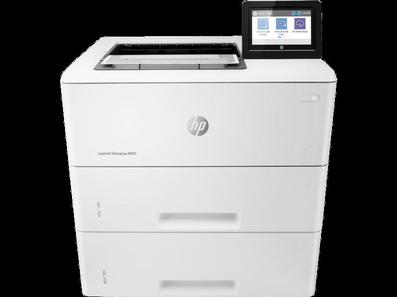 """Image Description of """"HP LaserJet ENT M507x """"."""