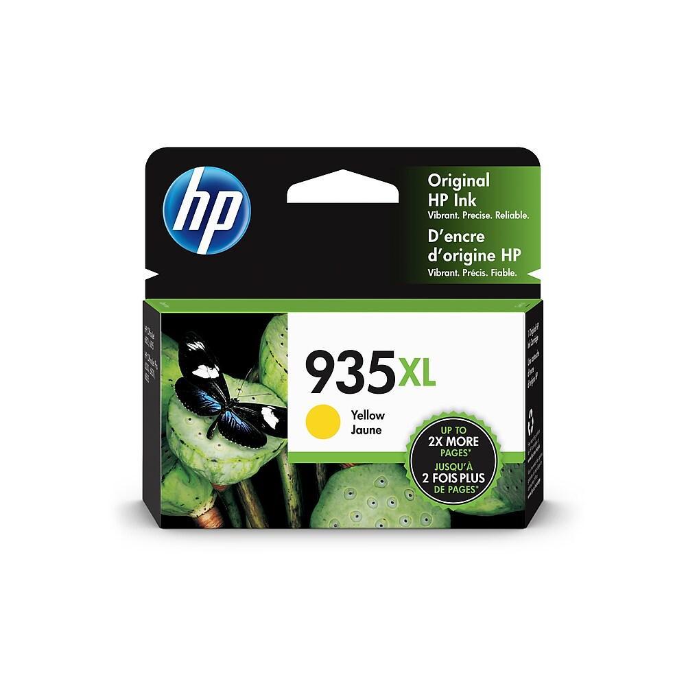 "Image Description of ""HP 935XL High Yield Yellow Original Ink Cartridge (C2P26AN)""."