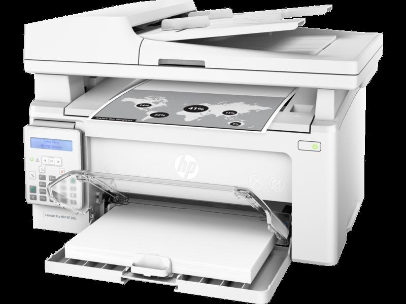 "Image Description of ""HP LaserJet PRO M130fn""."