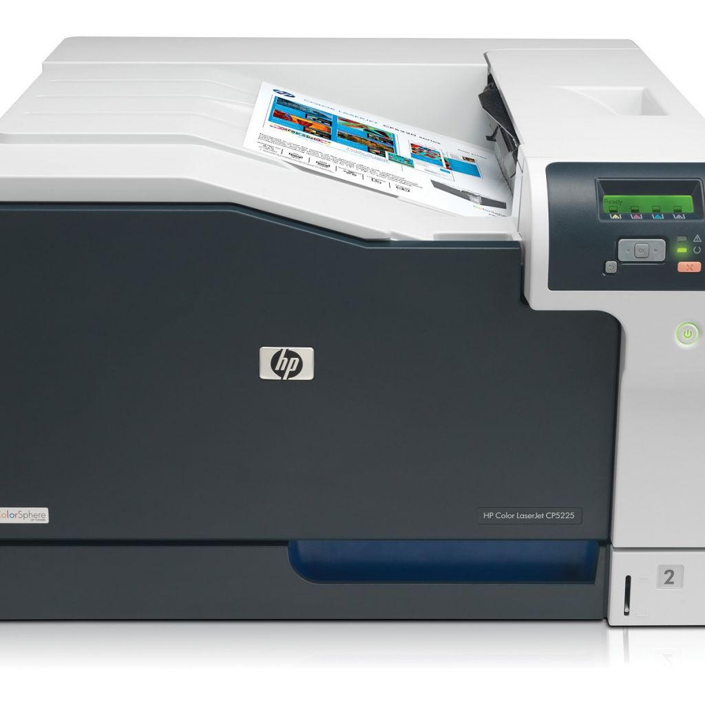 "Image Description of ""HP Colour LaserJet CP5225N""."