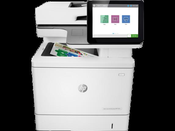 """Image Description of """"HP Colour LaserJet Enterprise MFP M578dn""""."""