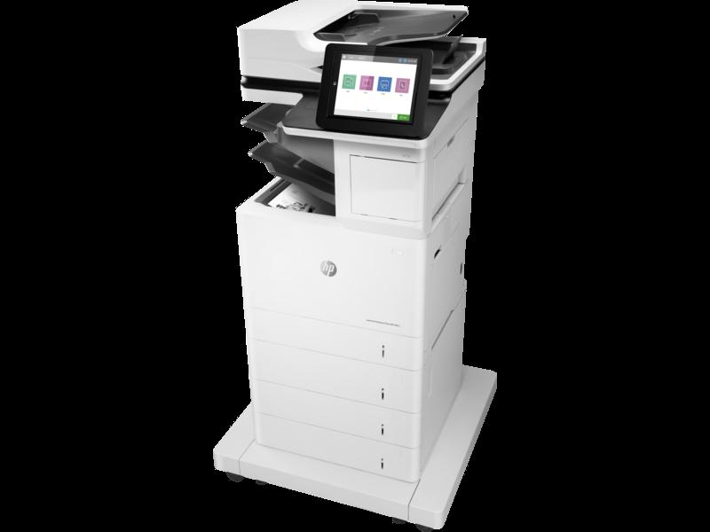 "Image Description of ""HP LaserJet ENT M631z""."