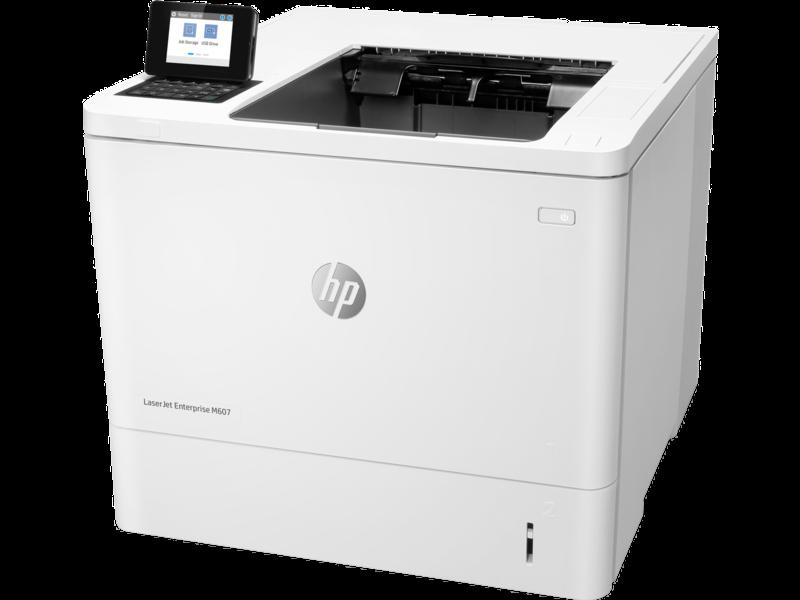 """Image Description of """"HP LaserJet ENT M607dn""""."""
