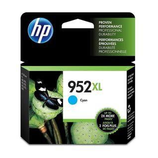 "Image Description of ""HP 952XL Cyan Ink""."