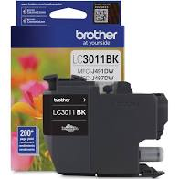 "Image Description of ""Brother LC3011BKS Black Ink Cartridge (LC3011BKS)""."