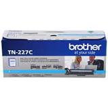 "Image Description of ""Brother Cyan Toner Cartridge, High Yield (TN227C)""."