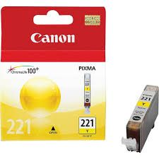 "Image Description of ""CAN-CLI-221 Yellow""."