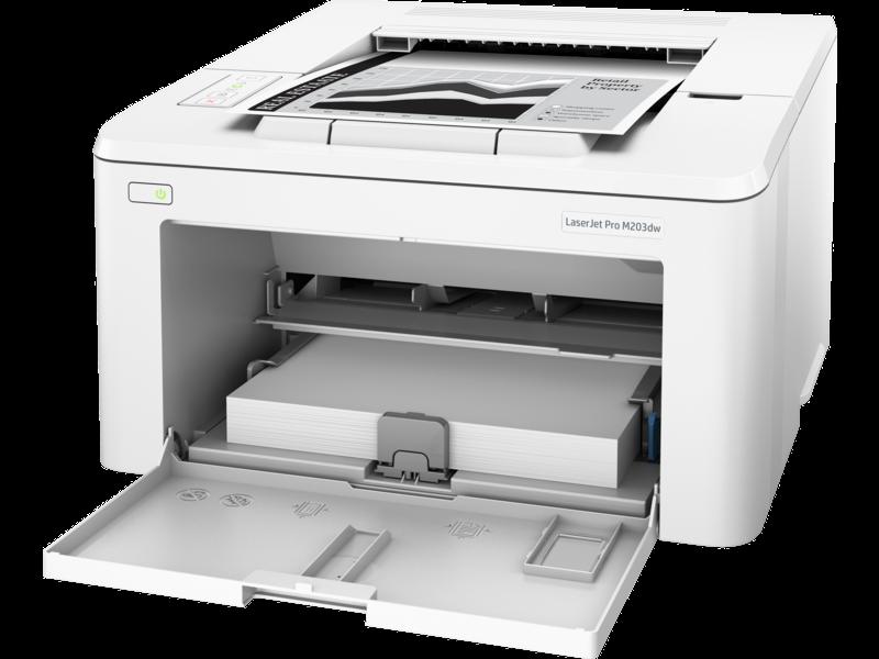 """Image Description of """"HP LaserJet PRO M203dw""""."""